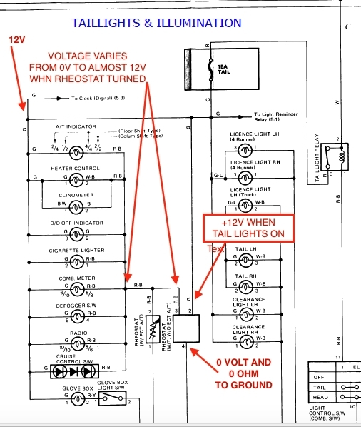 1998 toyota 4runner parts manual