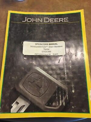 agco parts hay moisture tester manual
