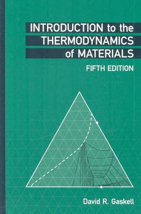 introduction to the thermodynamics of materials fifth edition solutions manual