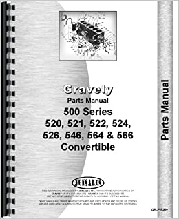 911100 gravely mower parts manual