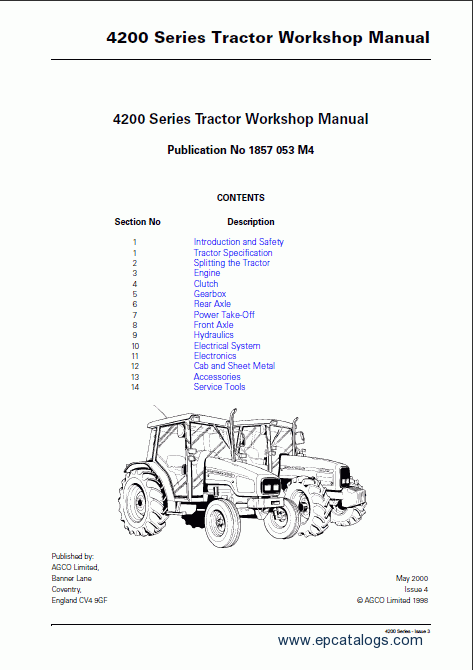 massey ferguson 583 parts manual