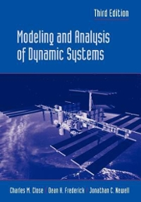 modeling and analysis of dynamic systems 3rd edition solutions manual