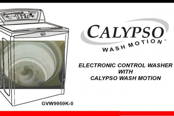 whirlpool calypso washer parts manual